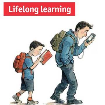 "Economist Special Report: ""Around the theme of lifelong learning"""